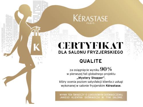certyfikat_Mystery_Shopper_Kerastase_QUALITE
